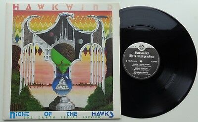 K12	Hawkwind	Night Of The Hawks (The Earth Ritual Preview)	(FLEP104)	UK 12""