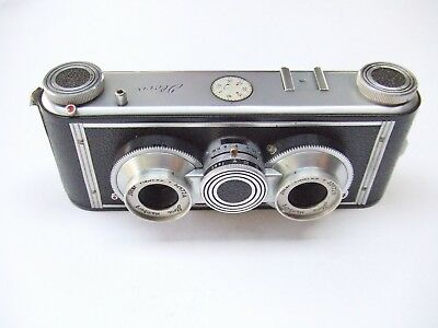 ILOCA STEREO 11 35mm STEREO CAMERA + CASE