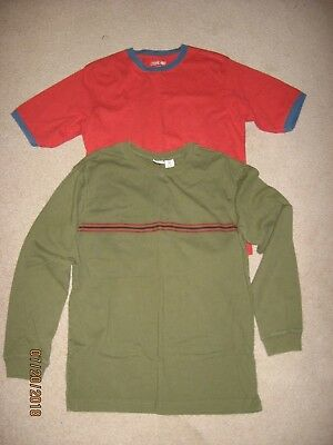Boys shirts, one XL 18-20 and one XL 18, cotton