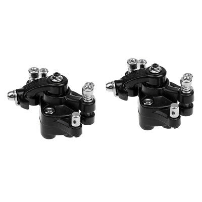 2 Pcs Mechanical Disc Brake MTB Bike Cycling Bicycle Front and Rear Caliper