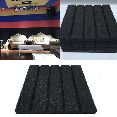 New Acoustic Foam Panel Soundproof Sound Stop Absorption Sponge Studio KTV Pad