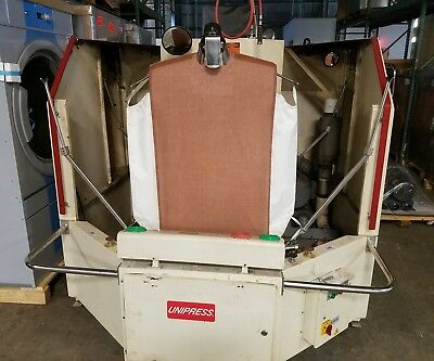 Unipress CRDC Double Buck Shirt Unit 1999 Model