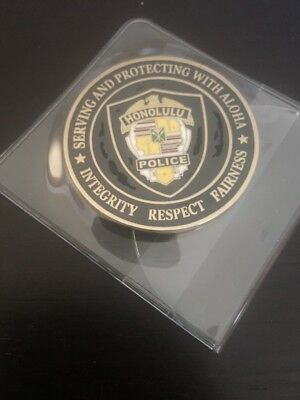 Honolulu Police Department Challenge Coin