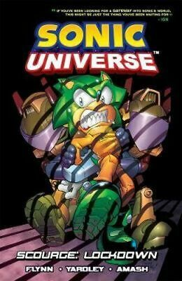 NEW Sonic Universe 8 By Sonic Scribes Paperback Free Shipping