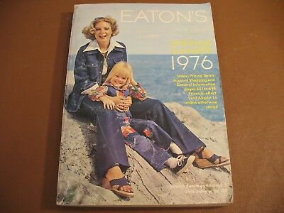 1976 Eaton's Department Stores Spring & Summer Catalog