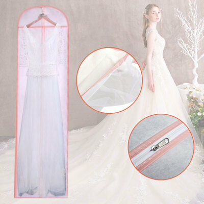 Long Dress Cover Storage Bag Breathable for Bridesmaid Bridal Wedding Gown Dress