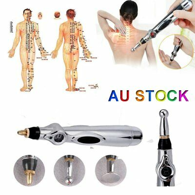 Acupuncture pen Electronic Pulse Analgesia Body Pain Relief Massage Massager AU