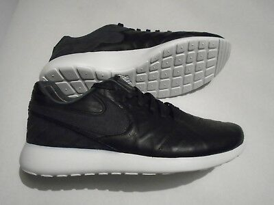 brand new 80b52 9fe1a New Nike Roshe Tiempo VI QS Leather Mens Size 12 shoes Black 853535 002