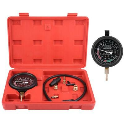 Engine Vacuum & Fuel Pump Carburetor Pressure Tester Gauge Leak Diagnostic Tool