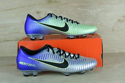 hot sale online 647b1 cd37a NIKE MENS MERCURIAL Victory VI NJR FG Neymar Jr. Grass Soccer Shoe 921509  407