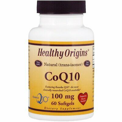 Natural Kaneka Coenzyme Q10 100mg 60 Softgel Capsules | Clinically Researched