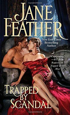 Trapped by Scandal by Feather, Jane Book The Cheap Fast Free Post