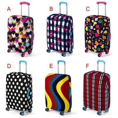 Useful Elastic Luggage Suitcase Cover Protective Bag Dustproof Case Protector US