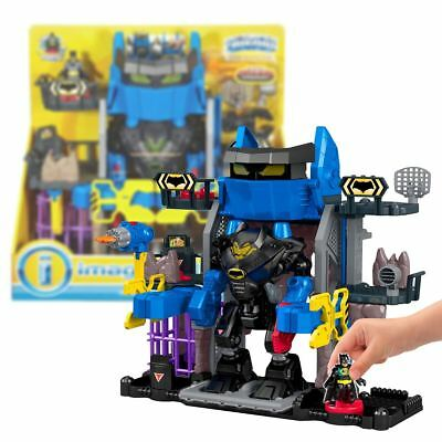 New DC Legends Of Batman Robo Batcave Playset & Figure Imaginext Official