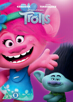 Trolls DVD (2018) Mike Mitchell cert U ***NEW*** FREE Shipping, Save £s