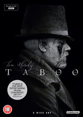 Taboo DVD (2017) Tom Hardy ***NEW***