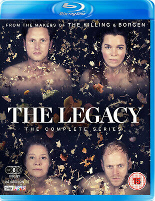 The Legacy: The Complete Series Blu-Ray (2017) Trine Dyrholm ***NEW***