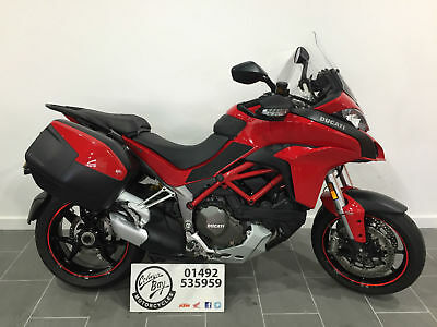 2016 Ducati Multistrada 1200S Touring, Full Service History, One Owner