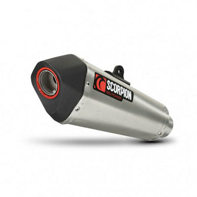 Scorpion Half System with Oval Steel End Can for Yamaha WR 125 X 09-17