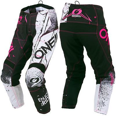 O'Neal Element Shred Damen Motocross Hose Pink Enduro DH MTB All Mountain Bike