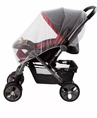 Universal Mosquito, Bug Netting For Stroller, Bassinets. No More Bugs!