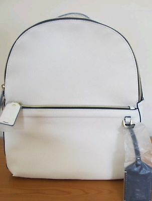NEW Estee Lauder Limited Edition Cream and Blue Piping Backpack Limited Edition