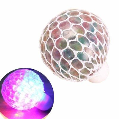 Anti Stress Ball Grape Bälle Mood Relief Spielzeug Mesh Squeeze Toy mit Netz