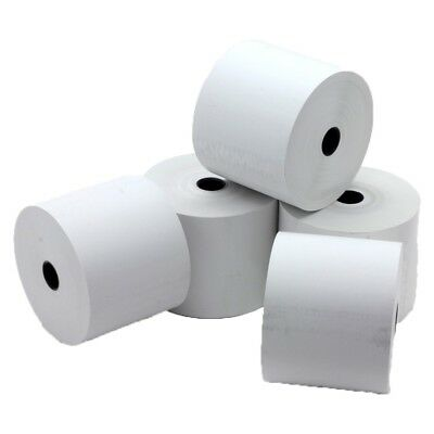 80x80mm Thermal Till Rolls 80 x 80mm EPOS PDQ Cash Register Paper 80mm x 80mm