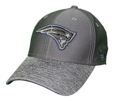 finest selection 7c47c 8943a New England Patriots New Era NFL 39THIRTY Popped Shadow Flex Fit Hat -  Graphite