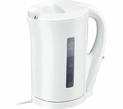 Corded Electric Kettle Jug Water Boiling Tea Coffee Boil Dry Protection 1.7Litre