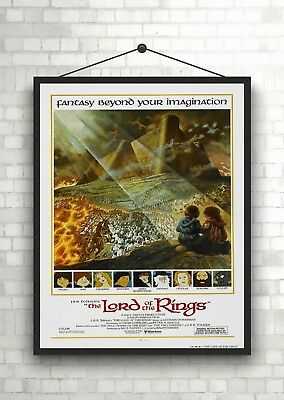 The Lord Of The Rings Classic Large Movie Poster Art Print A0 A1 A2 A3 A4 Maxi