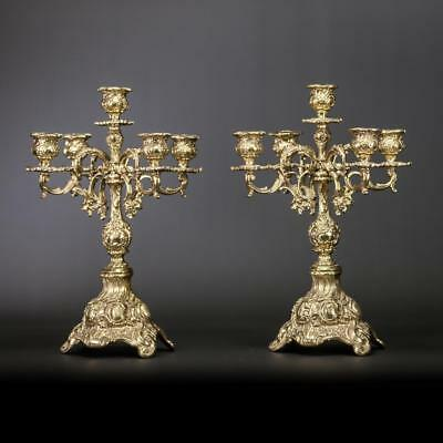 """Candelabra Pair 