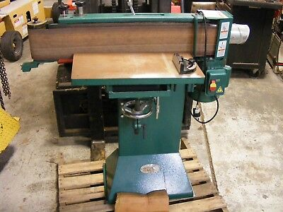 "Grizzly Industrial 6"" x 80"" Floor Model Edge Sander Cat No. G1140 1 1/2 HP"