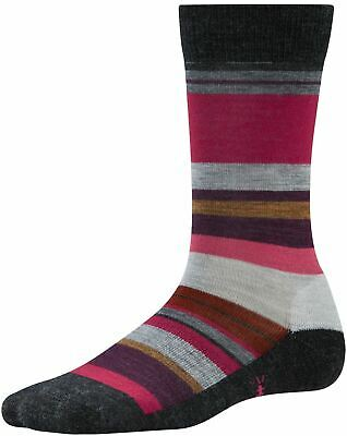 Smartwool Mujer Saturnsphere Lifestyle Calcetines Gris Carbón Deportes Al Aire