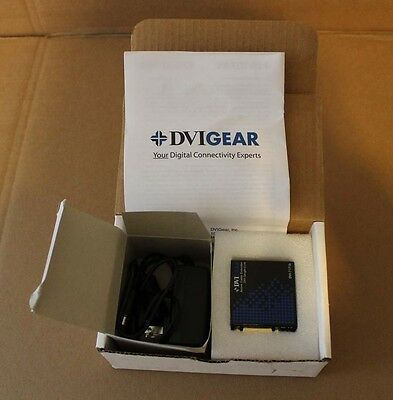 NEW DVIGEAR DVI-7171b DVI Single Link Active Cable Extender