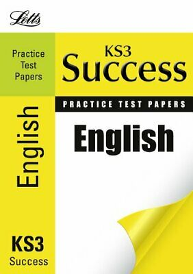 English: Practice Test Papers (Letts Key Stage 3 Success) by Barber, Nicholas