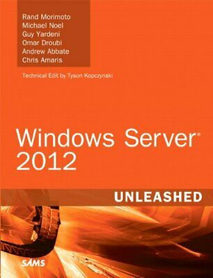 Windows Server 2012 Unleashed by Amaris, Chris Book The Cheap Fast Free Post