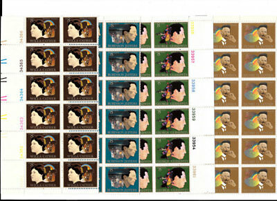 1484-1487  Vf Nh Plate Blocks Of 12, Free Shipping In Usa