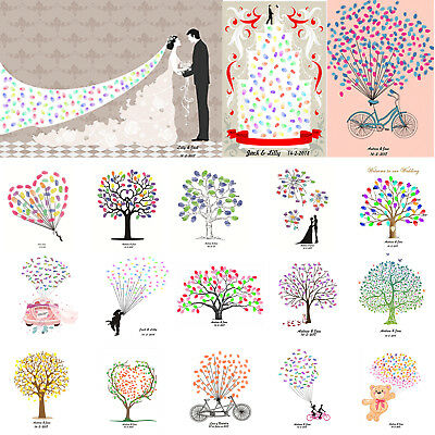 DIY Canvas Strip Multicolored Inkpad Fingerprint Signing Painting Inkpad Wedding