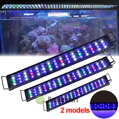 "20"" 38"" 48"" Multi-Color LED Aquarium Light Full Spec Plant Marine 90 180 225LEDs"