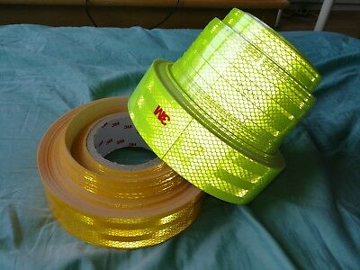 3M Hi Vis Viz Tape Lorry,Van Safety Warning Reflective Tape Roll Film Sticker