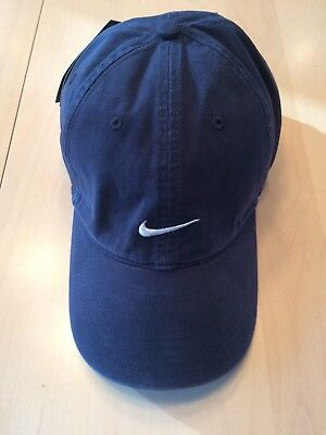 38f131225879b Vintage Nike Baseball Golf Hat Strapback Embroidered Swoosh Cotton New with  Tag