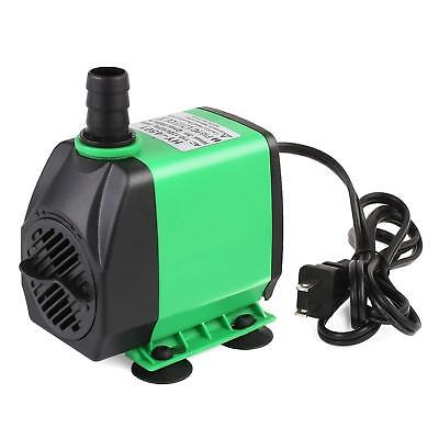 800GPH (3000L/H) Submersible Water Pump For Pond, Fish Tank Fountain Water Quiet