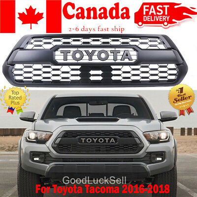 For Toyota Tacoma 2016-18 OEM TRD PRO Style Front Bumper Hood Grille PT228-35170