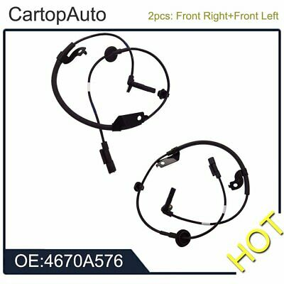 Front Left & Right For Mitsubishi Lancer Outlander 2007-2014 ABS Speed Sensor