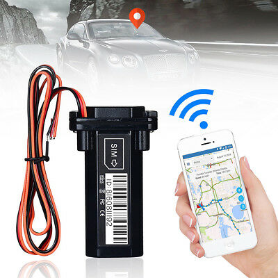 Waterproof Car Motorcycle GPRS GSM GPS Tracker Locator Real Time Tracking Device
