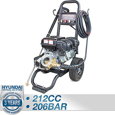 Hyundai 3100psi Petrol Pressure Washer HIGH POWER 10L/min Jet Washer HYW3100P2