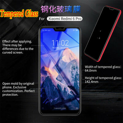 For Xiaomi Redmi 6 Pro 5 4 3 2 S2 Tempered Glass Film Screen Protector Guard BY1