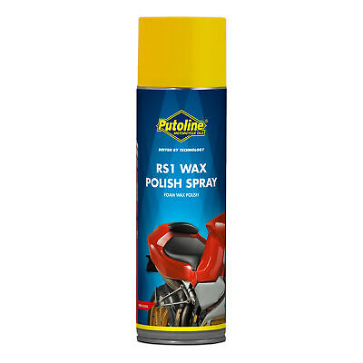 Putoline RS1 Motorcycle / Bike Wax Polish Spray With Carnauba Wax 500ml