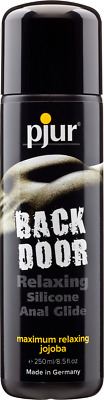 pjur Back Door Relaxing Silicone Anal Glide - Silikongleitgel Analbereich 250ml
